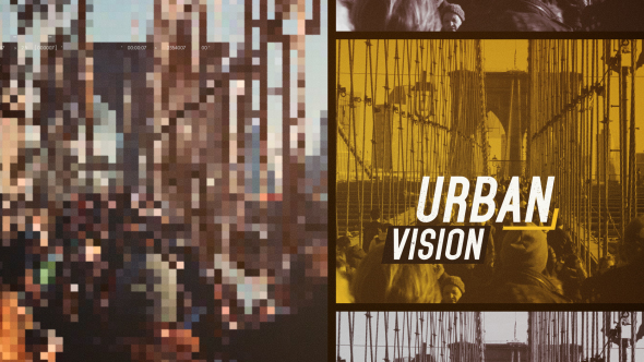 Urban Vision - Special Events avaajat After Effects Project Files