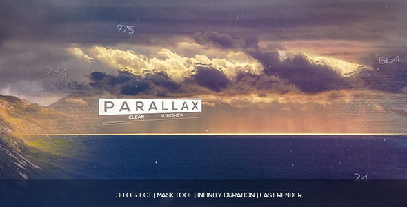 Parallax kuvaesitys - Special Events avaajat After Effects Project Files