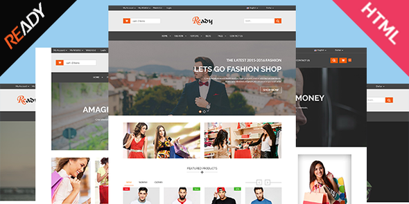 Ready- eCommerce Bootstrap HTML5 Template