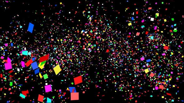 Confetti - Taustat Motion Graphics
