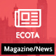 Ecota - News & Magazine WordPress Theme