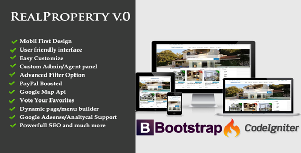 Real Property- A Complete Real Estate portal system