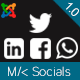MK Socials - Open Graph and Social sharing for Joomla!
