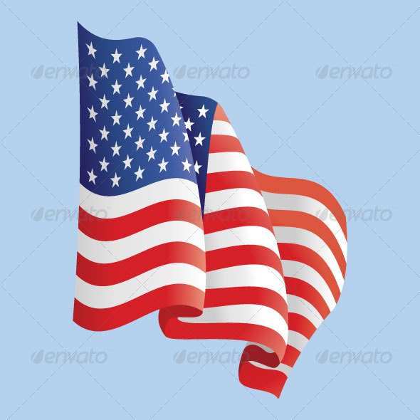 GraphicRiver American Flag 28477
