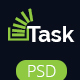 Task-Corporate Business PSD Theme