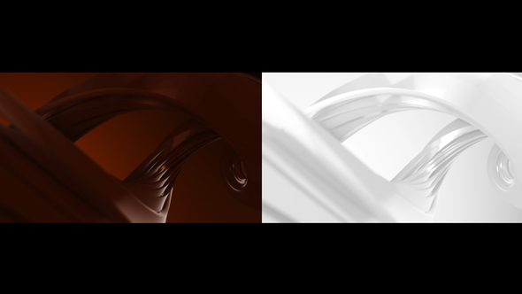 Milk Chocolate Spiral - Abstract Taustat Motion Graphics