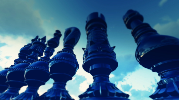 3D Chess Background - 3D, Object Taustat Motion Graphics