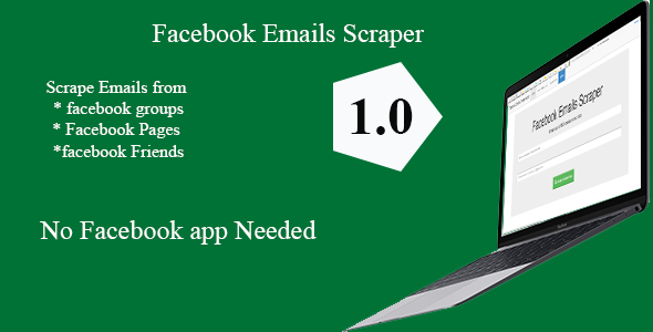 Facebook Groups /Pages/ Profiles Emails Scraper 1.1 by wanjirujosphat