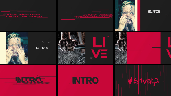 Nopea avaaja - Special Events Video Näyttää After Effects Project Files