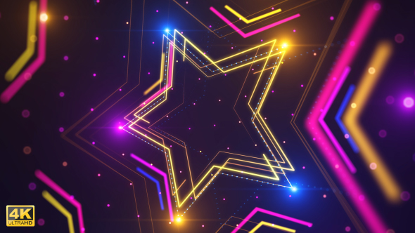 Star Light Tausta - Light Taustat Motion Graphics