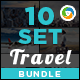 Travel Banners Bundle - 10 Sets - 180 Banners