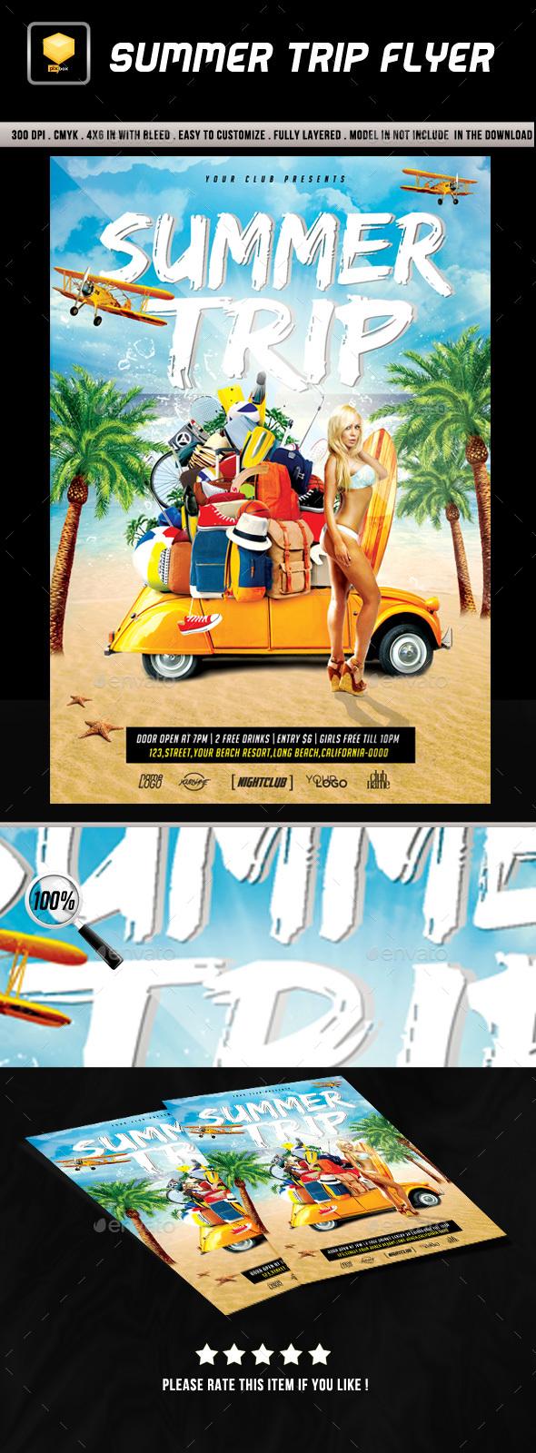 Summer Trip Flyer
