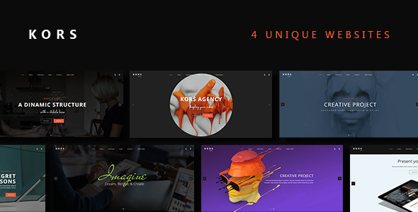 Kors - Multiuse Pack Business Template