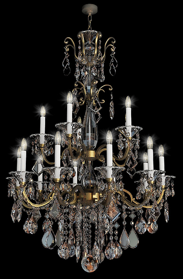 chandelier schonbek - 3DOcean Item for Sale
