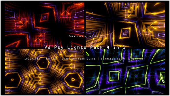 Download VJ Psy Lights Pack nulled download
