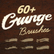 60+ Grunge Illustrator Brushes