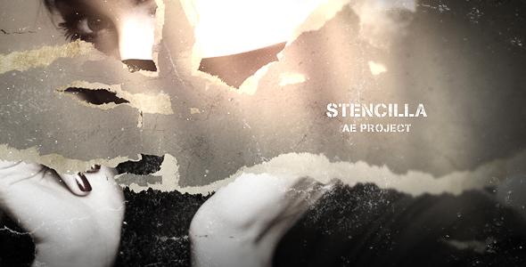 Stencilla - Muut osastot After Effects Project Files
