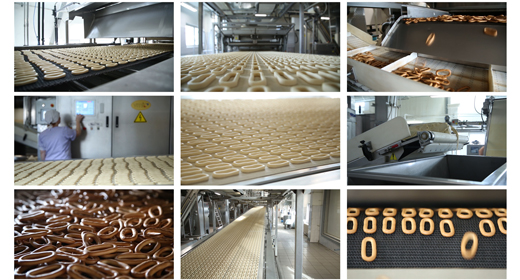 Bakery Products, Freshly Baked Bagels