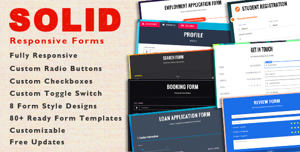 SOLID - CSS3 Responsive Forms