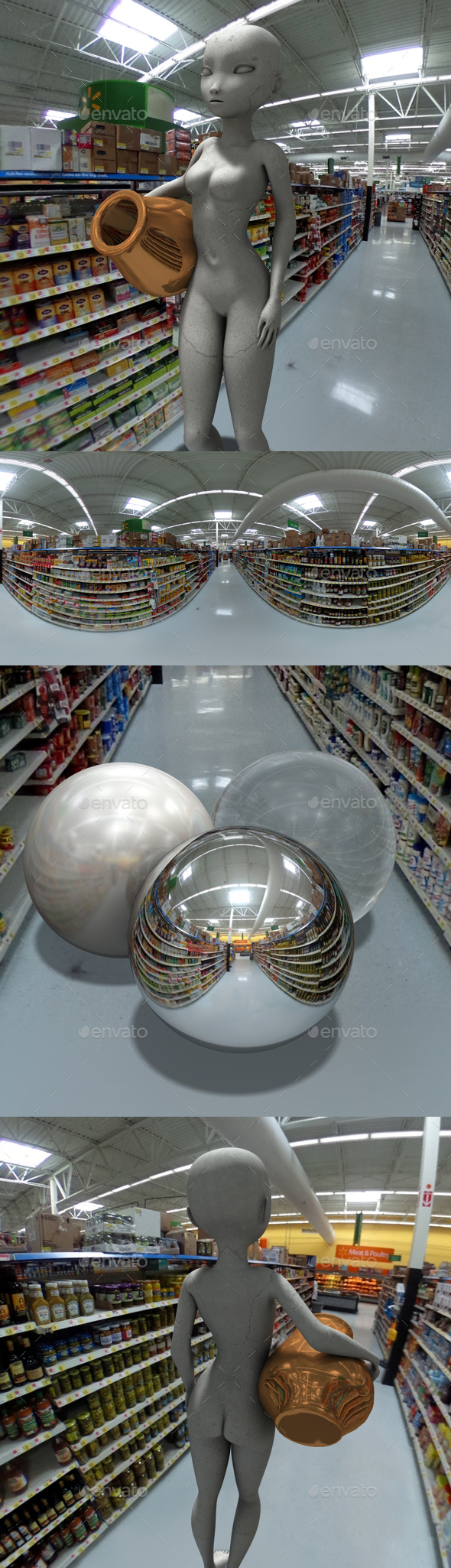 Supermarket HDRI - 3DOcean Item for Sale