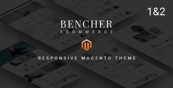 bencher.  large preview - Bencher - Responsive Magento 1 & 2 Theme