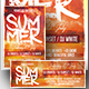 Summer Flyer/Poster/Facebook Cover