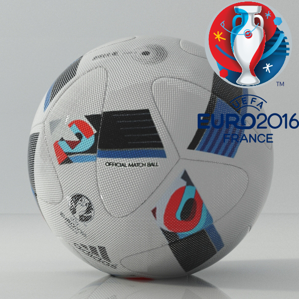 Euro cup 2016 Ball - 3DOcean Item for Sale