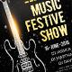 Music Show Flyer Template