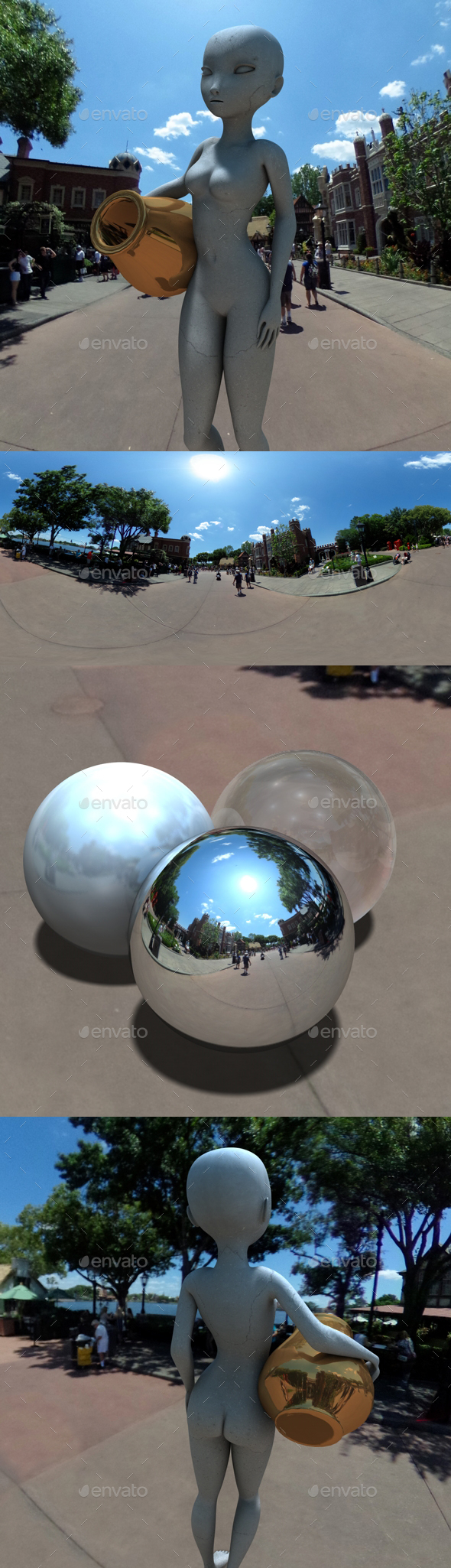 British Themed Street HDRI - 3DOcean Item for Sale
