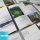 Take-out Brochure/ DL Bi-Fold Mockups