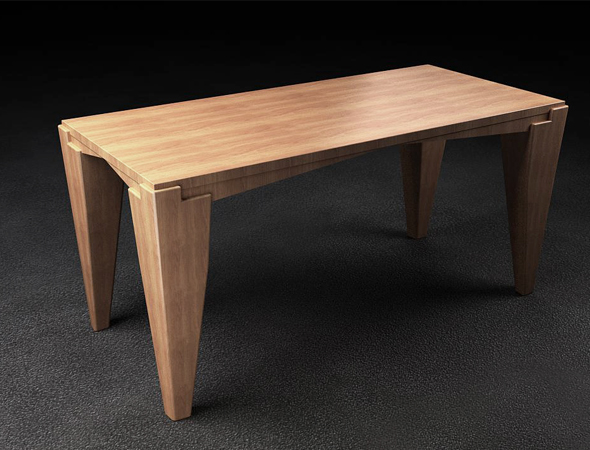 Meating Table - 3DOcean Item for Sale