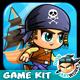 Pirate Run Platformer Game Assets 19