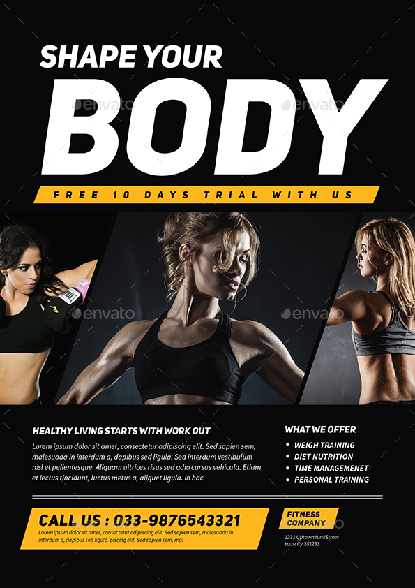 Fitness Flyer by Guuver – Fitness Flyer