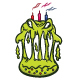Birthday Cake Monster