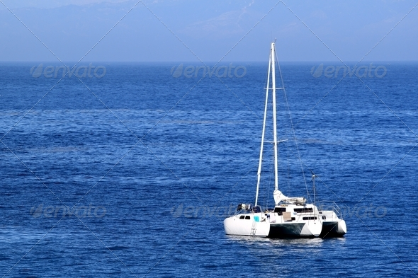 Sailboat - Stock Photo - Images