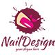 Nail Logo Template