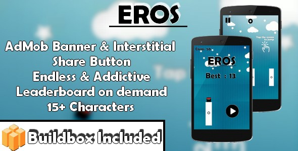 Eros - iOS xCode & Buildbox Game Template