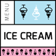 Ice Cream Menu V
