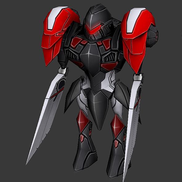 Cartoon Black Titan - 3DOcean Item for Sale