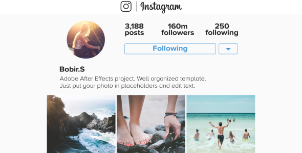 Instagram Promo Mobile - Corporate avaajat After Effects Project Files