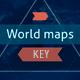 Earth maps for presentation Keynote