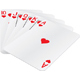 Royal Flush hand - GraphicRiver Item for Sale