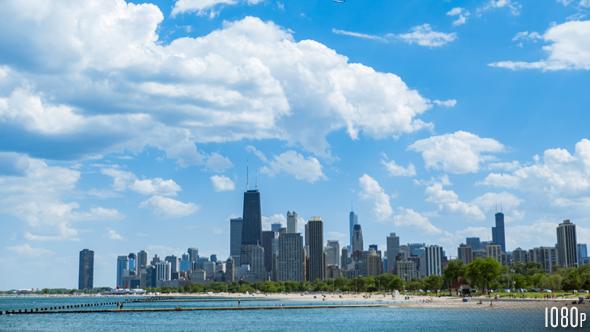 Download Chicago Skyline nulled download
