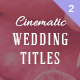 Wedding Titles 2