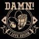 I Love Design T-Shirt Template