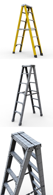 Ladder - 3DOcean Item for Sale