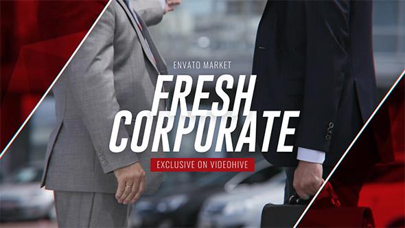 Tuore Corporate - Promo - Corporate Video Näyttää After Effects Project Files