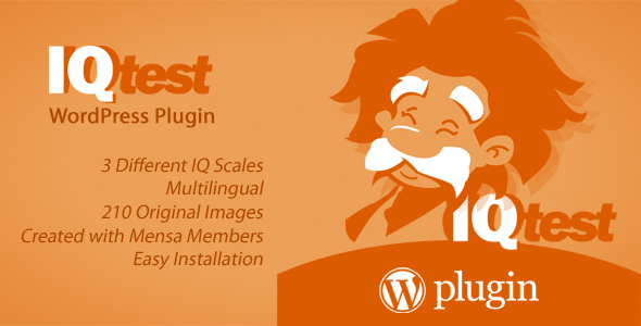 IQ Test WordPress Plugin
