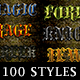 Medieval Text Effect Styles Bundle
