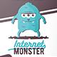 Internet Monster Flyer Template